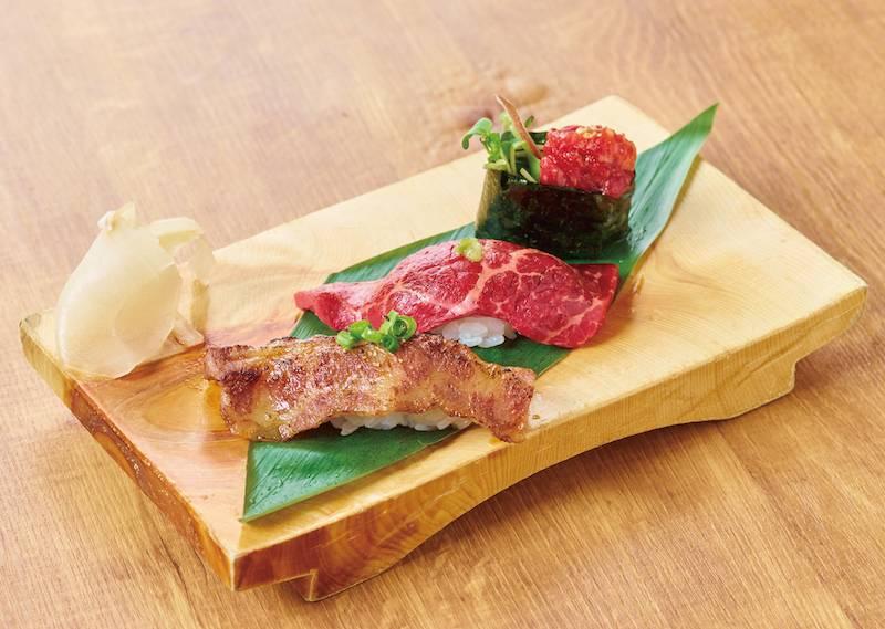 일본산 흑우를 스시로 즐기다