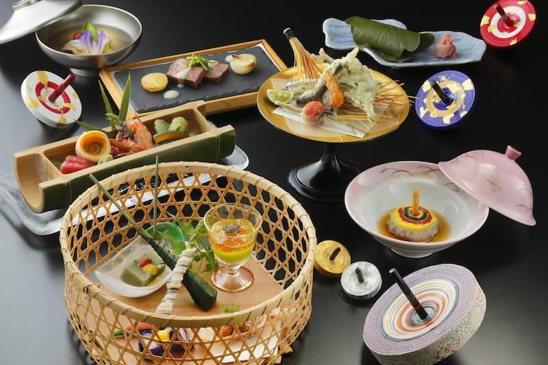 食材にもこだわった京料理