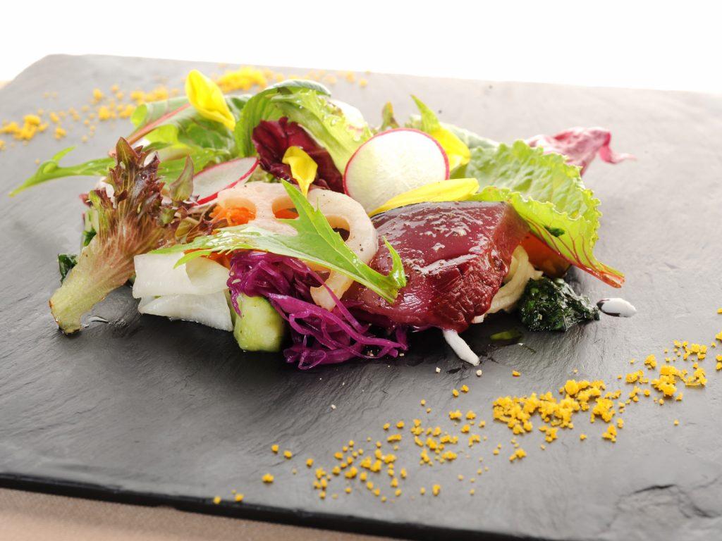 京野菜をふんだんに使った最上級のフレンチ。「祇園 Abbesses」