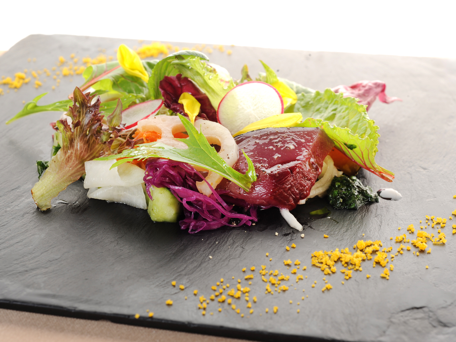 """""""Gion Abbesses,"""" French with Kyoto Vegetables"""