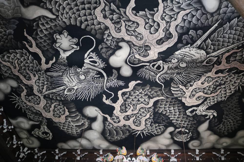 仿佛美術館般的京都最古老的禪寺。「建仁寺」