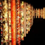 Kimono Forest --Walking down Arashiyama at night