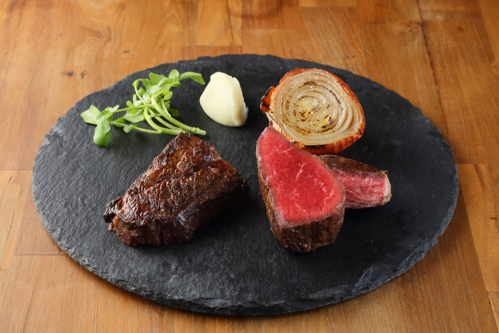 "Enjoy a filling aged steak at ""Steak house Pound  Main store"""