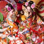 "Take a picture at the gorgeous studio ""Oiran Experiencing studio Arare"""