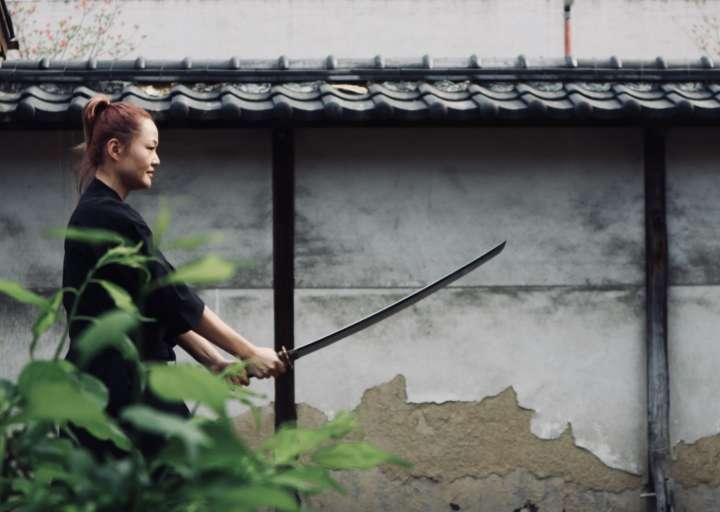 真剣を使った本物のサムライ体験ができる「Kyoto samurai experience 」