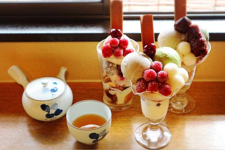 祇園で愛され続ける、きなこの香り高いアイスクリーム「祇園きなな本店」
