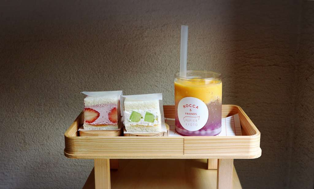 """Beautiful, Cute and Tasty with Kyoto landscape. """"ROCCA&FRIENDS PAPIER KYOTO"""""""