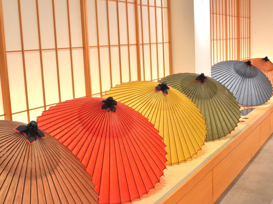 "300 years history of Japanese beauty-Japanese Umbrella shop ""Kyoto Wagasa-ya Tsujikura"""
