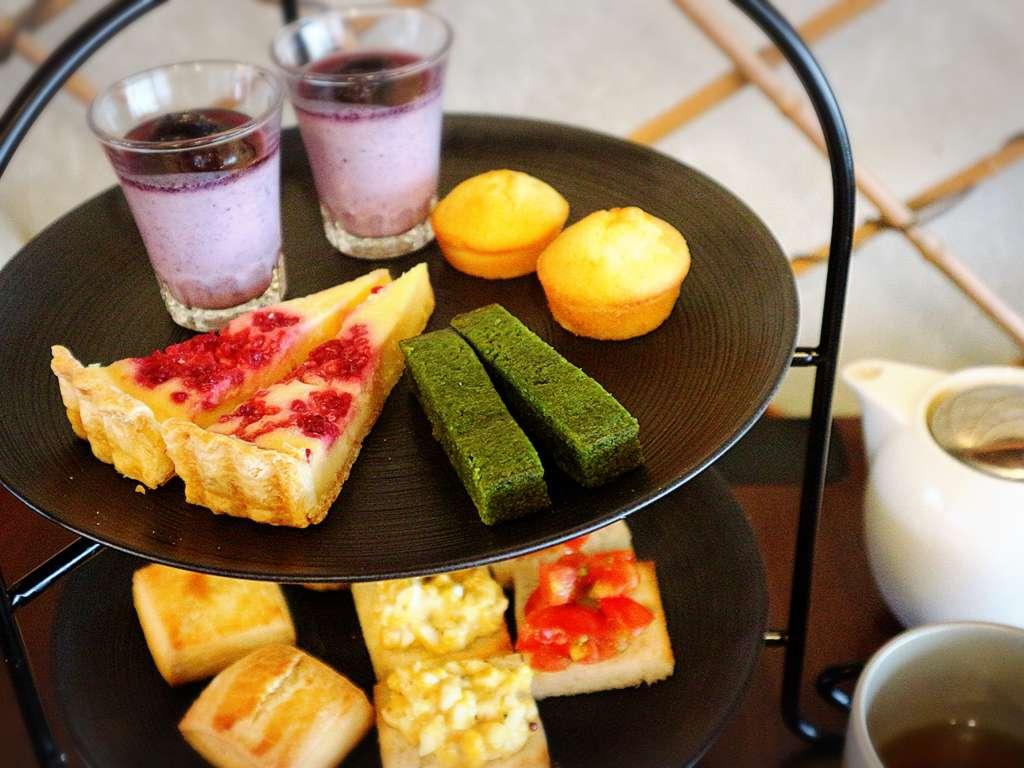 可称得上是世界第一值得品尝的应季下午茶套餐 「雪之下 京都本店」