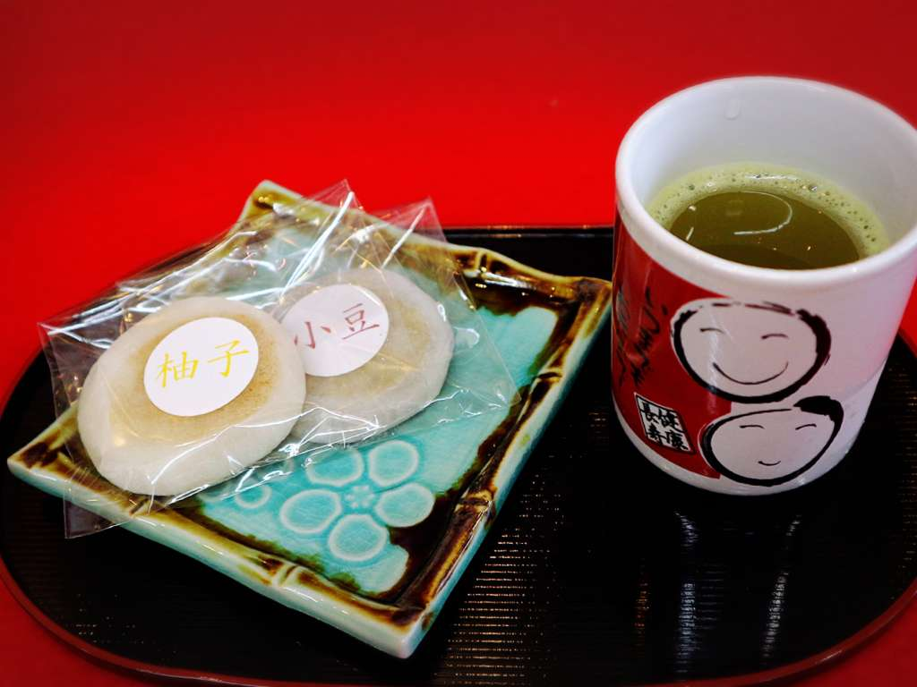 在这备受游客喜爱的地区,有一家简单而美味的京乃六条烧年糕茶寮