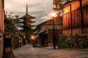 Enjoy sightseeing in Kyoto for a