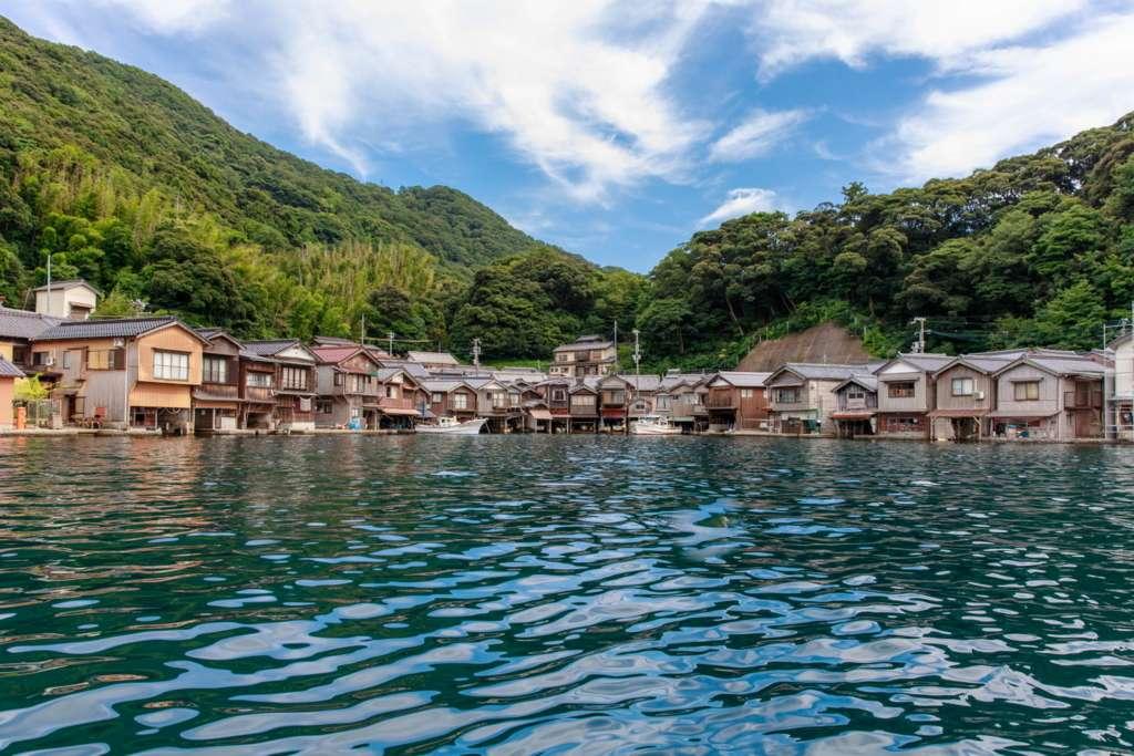 """在京都最靠近大海的地方。世界獨壹無二的小鎮""""伊根"""""""