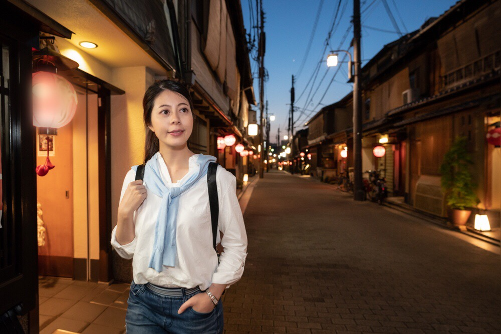I want to conquer all of Kyoto's famous streets! Stroll around the Kiyamachi neighborhood