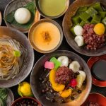 Take a break from walking around town: create sweet memories with some delicious summery Kyoto treats