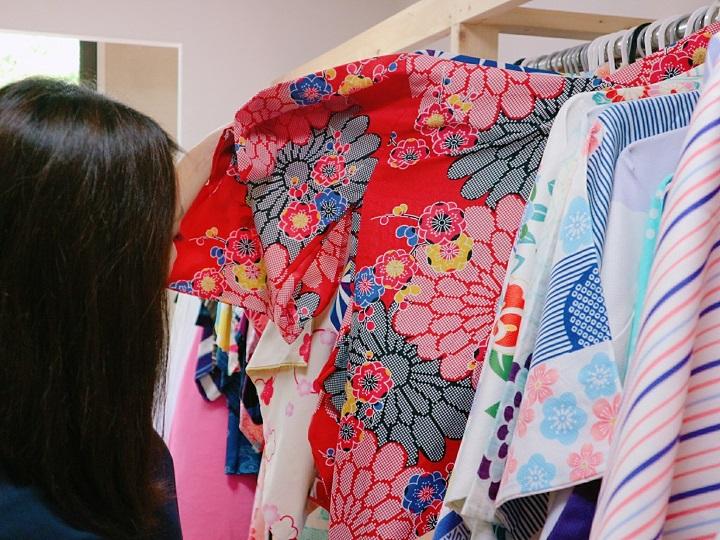"""We visited the Kimono rental shop """"Kyonomiyako"""""""