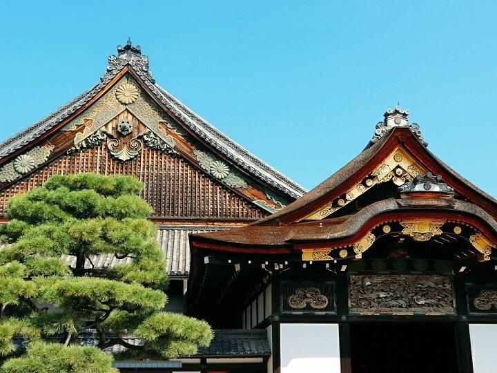 二条城の貴重な建造物、二の丸御殿