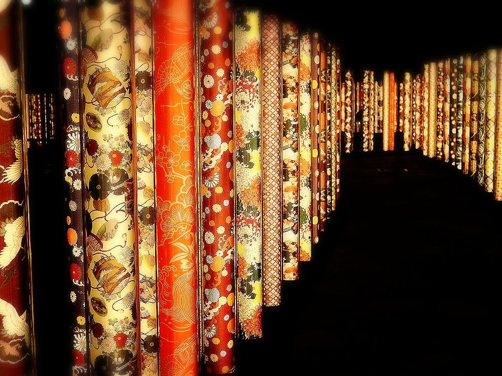 漫步在夜間的嵐山「京友禪光林」