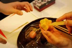 Enjoy making traditional Japanese sweets at Kameya Yoshinaga