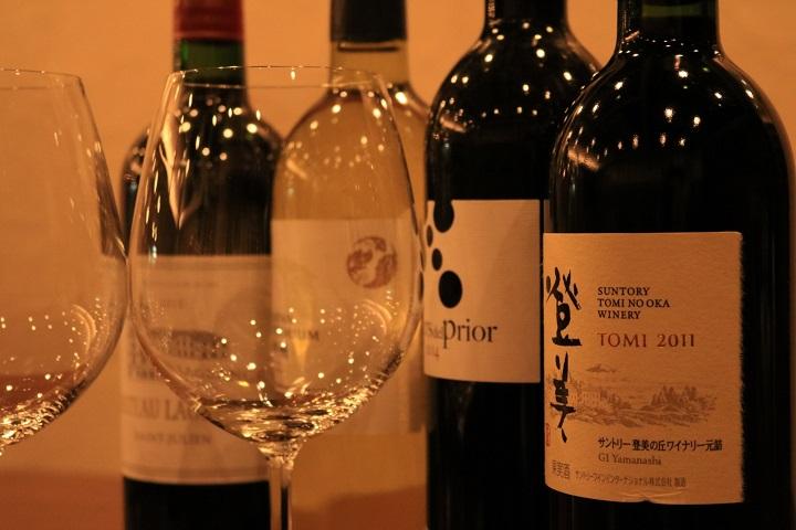 種類豊富な厳選ワイン