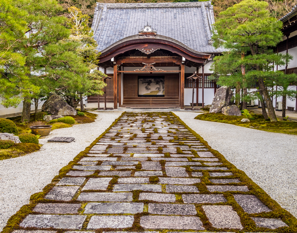 Stone pavings creating an emotional scene
