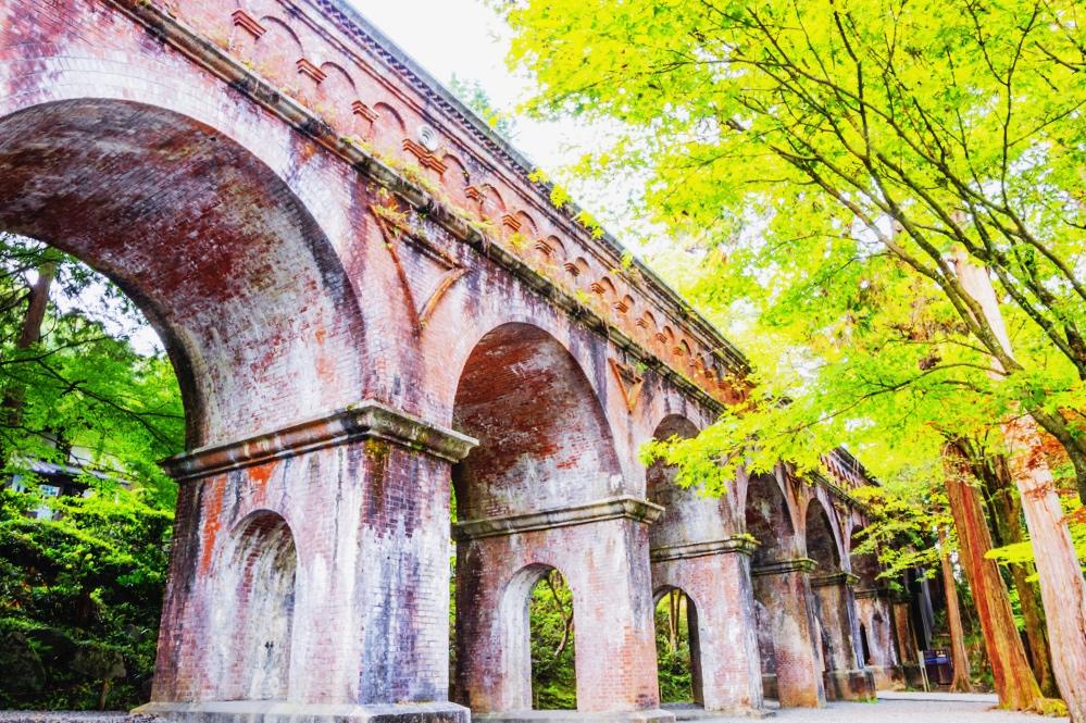 An impressive arch inside Nanzen-ji Temple
