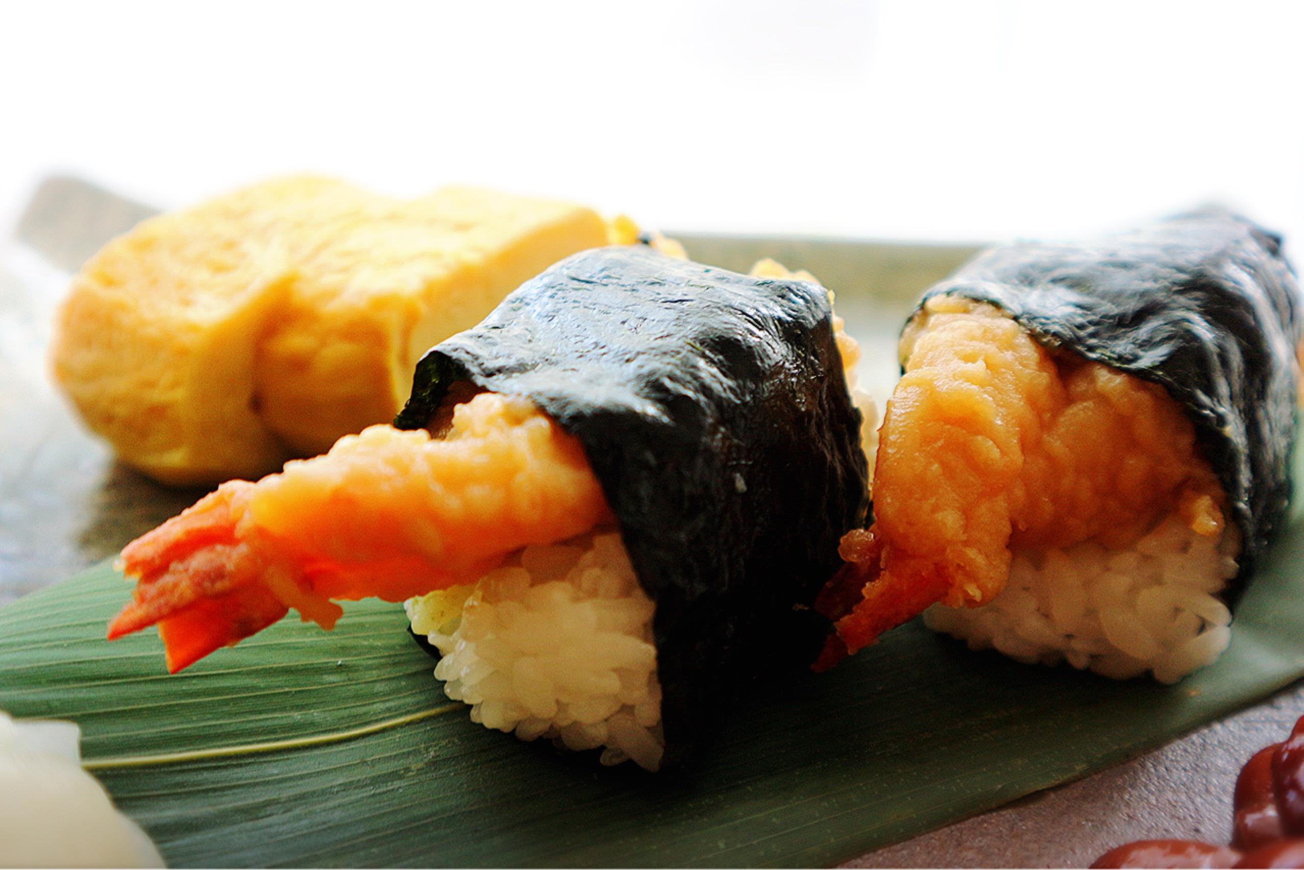 King of tenmusu: Shrimps