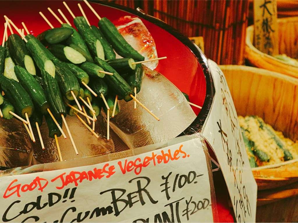感受當季食材之美。使用嚴選上等品質京都蔬菜的醃菜專門店「錦 高倉屋」