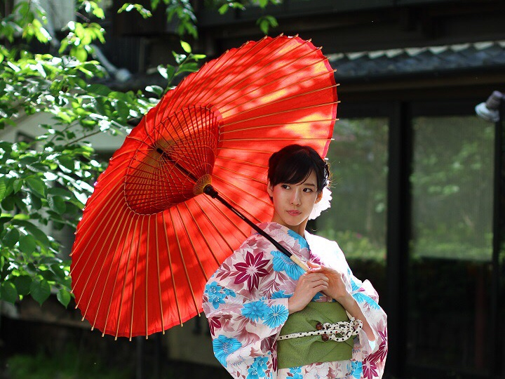 Fashionable Japanese Umbrellas