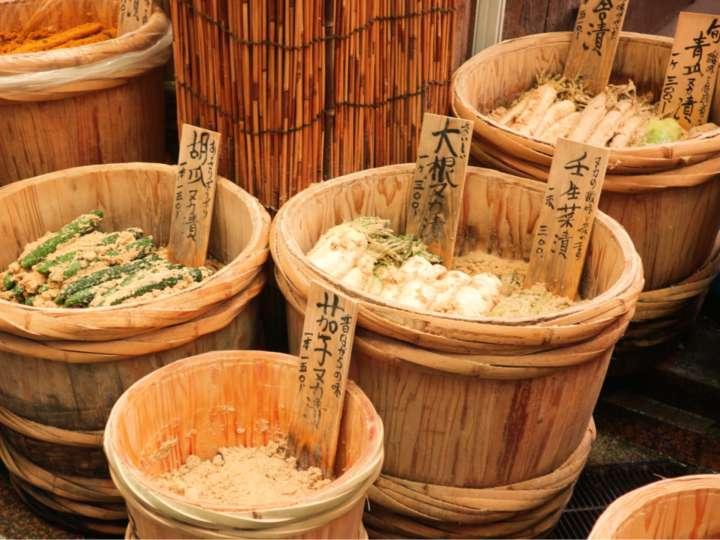 日本の誇れる保存食・ぬか漬け