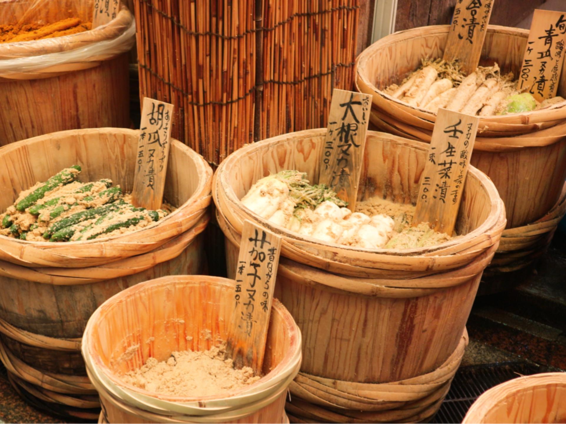 日本引以為傲的長期保存食品・醃菜