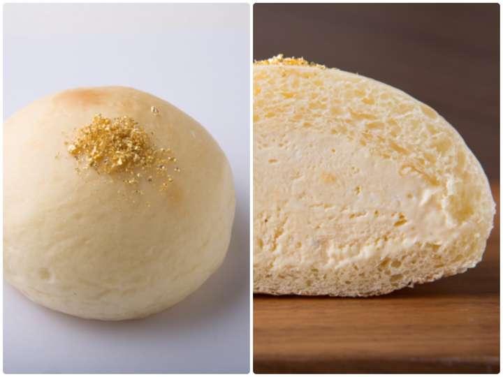 絶品クリームパン「kin・iro 金色」