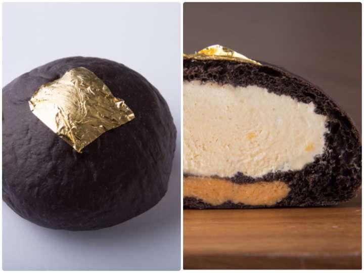 限定の極上クリームパン「kuro・iro 黒色」