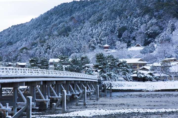 一段と雄大さが増す雪景色