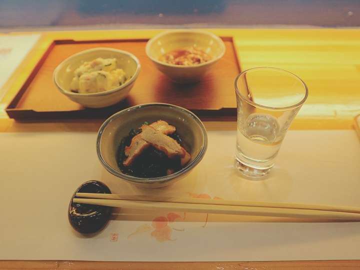 日本食と日本酒を一度に楽しめる