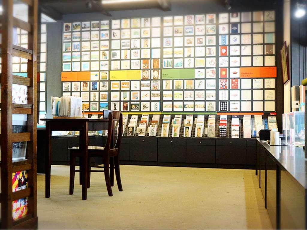 일상에 색을 입히는 미술엽서 갤러리 「교토 벤리도」