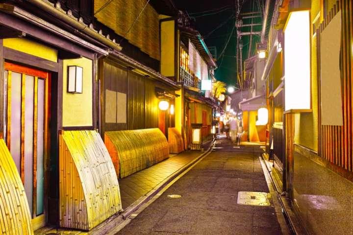 「先斗町(ぽんとちょう)」