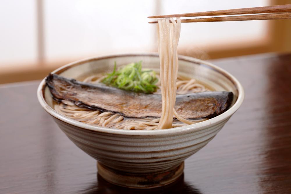 Nishin Soba - Buckwheat Noodles with Herring