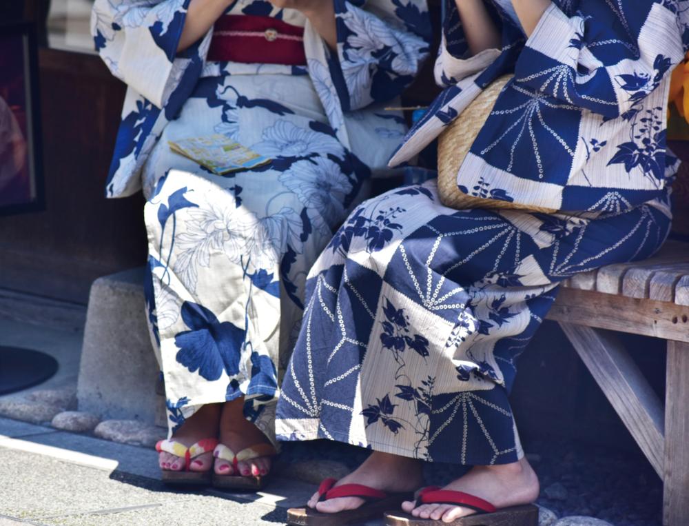 Yukata - Casual Cotton Kimono for Summer