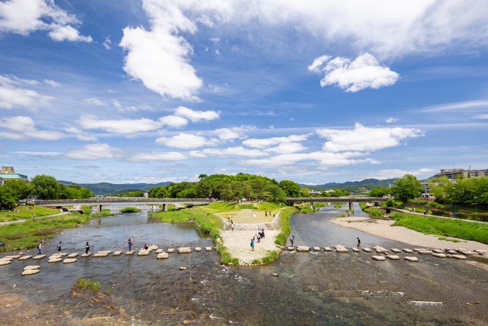 Kamogawa River Delta