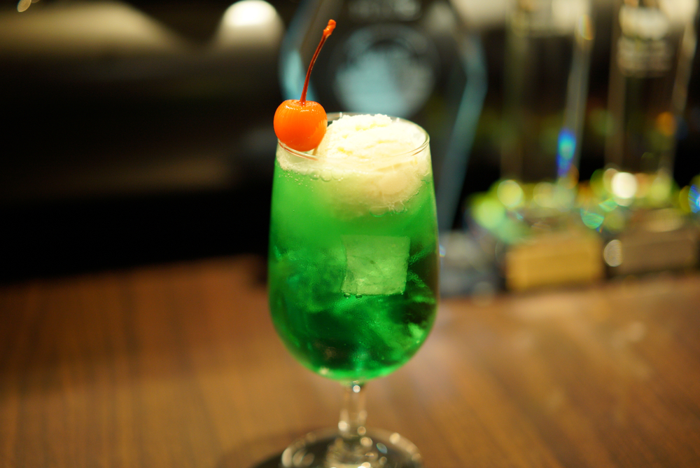 The Kissaten Drink - Cream Soda Float