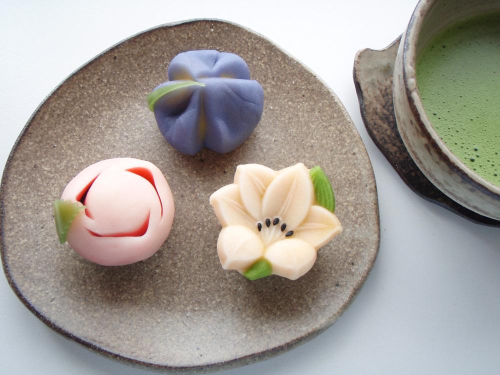 Making Wagashi - Traditional Japanese Confectionery