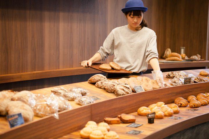 小麦の味を生かすこだわりのパン
