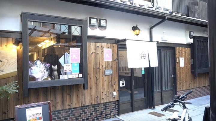 築100年の町家を改装した猫喫茶「うたねこ堂」をご紹介